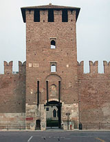 Ingresso principale di Castelvecchio